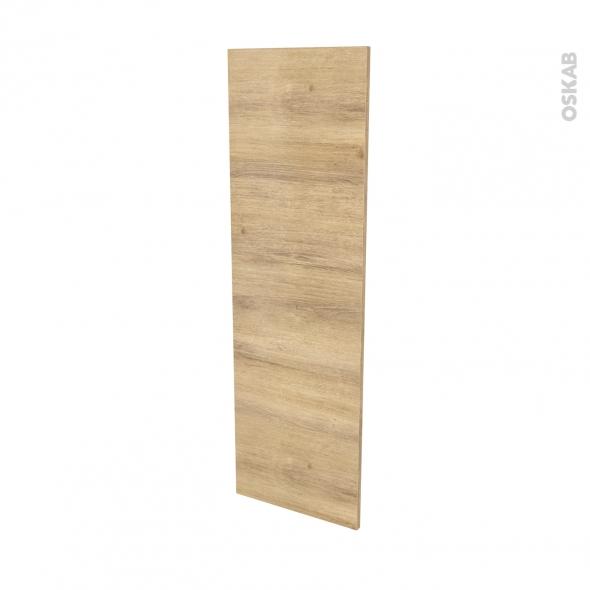 Façades de cuisine - Porte N°26 - HOSTA Chêne naturel - L40 x H125 cm