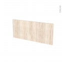 Façades de cuisine - Face tiroir N°11 - IKORO Chêne clair - L80 x H35 cm