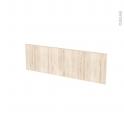 IKORO Chêne clair - face tiroir N°39 - L80xH25