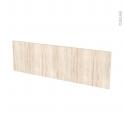 IKORO Chêne clair - face tiroir N°40 - L100xH31
