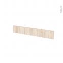Façades de cuisine - Face tiroir N°42 - IKORO Chêne clair - L80 x H13 cm