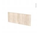 IKORO Chêne clair - face tiroir N°5 - L60xH25