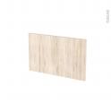 Façades de cuisine - Face tiroir N°7 - IKORO Chêne clair - L50 x H31 cm