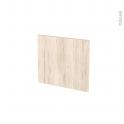 Façades de cuisine - Face tiroir N°9 - IKORO Chêne clair - L40 x H35 cm
