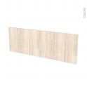 Façades de cuisine - Porte N°12 - IKORO Chêne clair - L100 x H35 cm