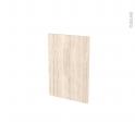 Façades de cuisine - Porte N°14 - IKORO Chêne clair - L40 x H57 cm