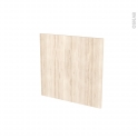 Façades de cuisine - Porte N°16 - IKORO Chêne clair - L60 x H57 cm