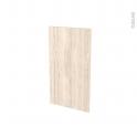 Façades de cuisine - Porte N°19 - IKORO Chêne clair - L40 x H70 cm