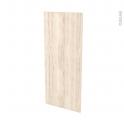 Façades de cuisine - Porte N°23 - IKORO Chêne clair - L40 x H92 cm
