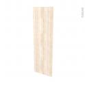 Façades de cuisine - Porte N°26 - IKORO Chêne clair - L40 x H125 cm