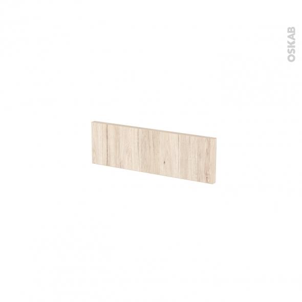 Façades de cuisine - Face tiroir N°1 - IKORO Chêne clair - L40 x H13 cm