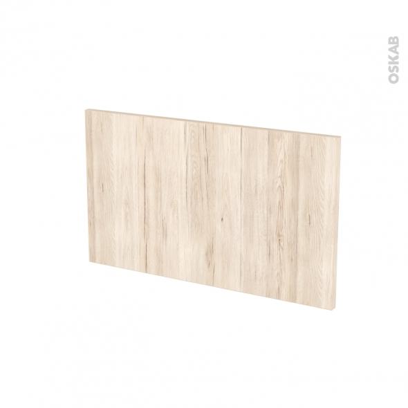 Façades de cuisine - Face tiroir N°10 - IKORO Chêne clair - L60 x H35 cm