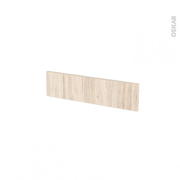 Façades de cuisine - Face tiroir N°2 - IKORO Chêne clair - L50 x H13 cm