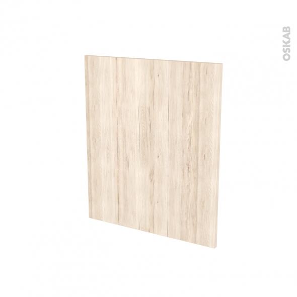 Façades de cuisine - Porte N°21 - IKORO Chêne clair - L60 x H70 cm