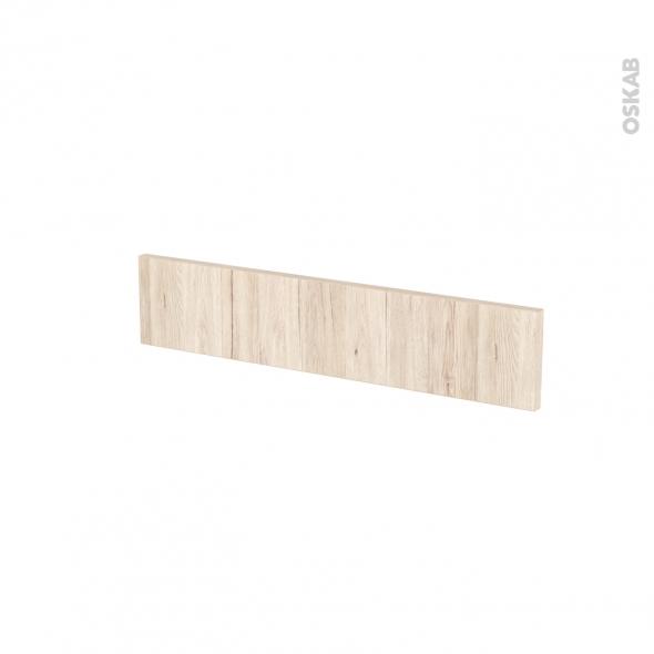Façades de cuisine - Face tiroir N°3 - IKORO Chêne clair - L60 x H13 cm