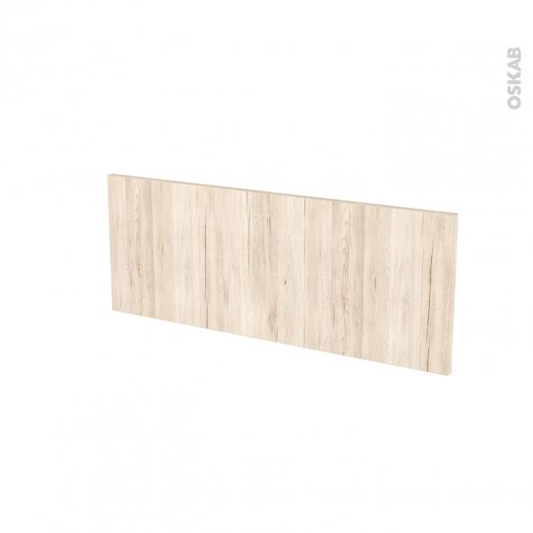 Façades de cuisine - Face tiroir N°38 - IKORO Chêne clair - L80 x H31 cm