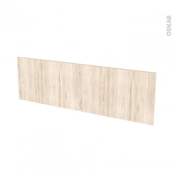 Façades de cuisine - Face tiroir N°40 - IKORO Chêne clair - L100 x H31 cm