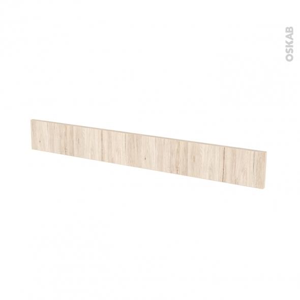 IKORO Chêne clair - face tiroir N°43 - L100xH13