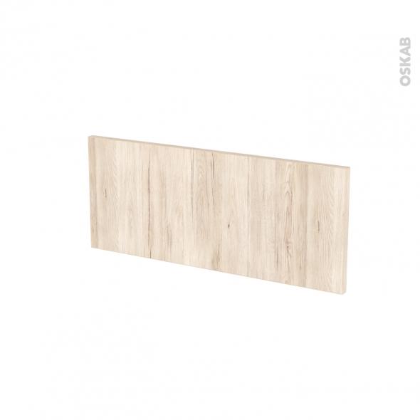 Façades de cuisine - Face tiroir N°5 - IKORO Chêne clair - L60 x H25 cm