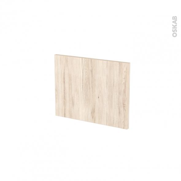 Façades de cuisine - Face tiroir N°6 - IKORO Chêne clair - L40 x H31 cm