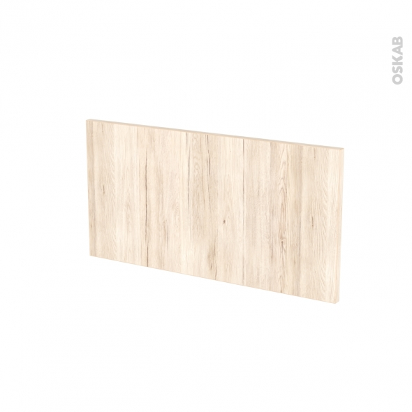 Façades de cuisine - Face tiroir N°8 - IKORO Chêne clair - L60 x H31 cm