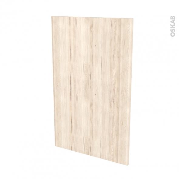 Finition cuisine - Joue N°31 - IKORO Chêne clair - Avec sachet de fixation - L58 x H92 x Ep.1.6 cm
