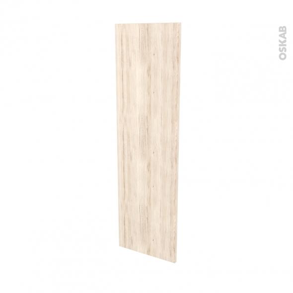Finition cuisine - Joue N°34 - IKORO Chêne clair - L37 x H125 cm
