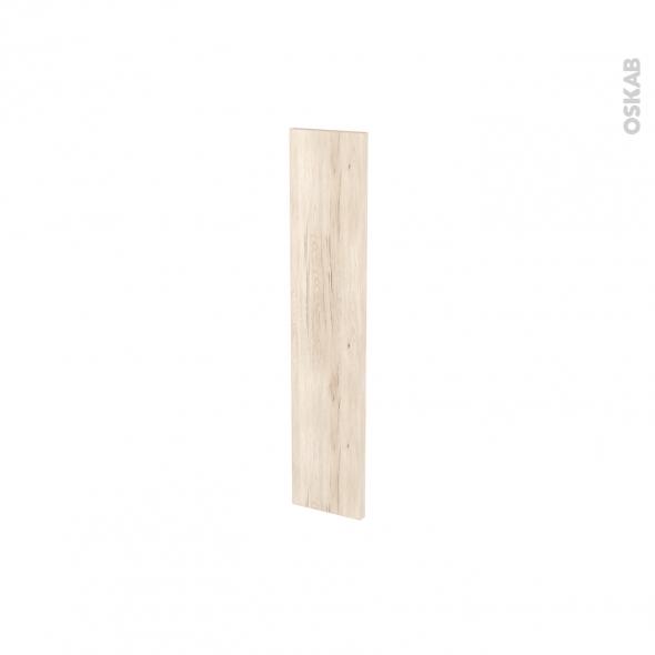 Façades de cuisine - Porte N°17 - IKORO Chêne clair - L15 x H70 cm