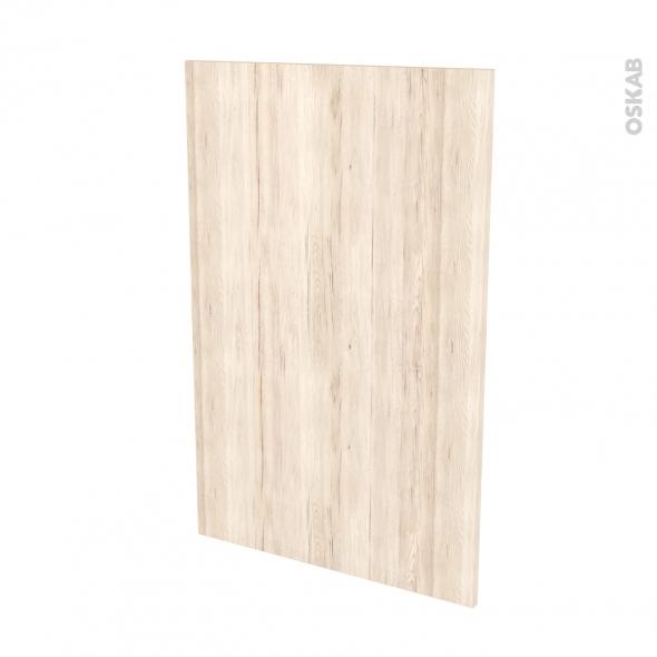 Façades de cuisine - Porte N°24 - IKORO Chêne clair - L60 x H92 cm