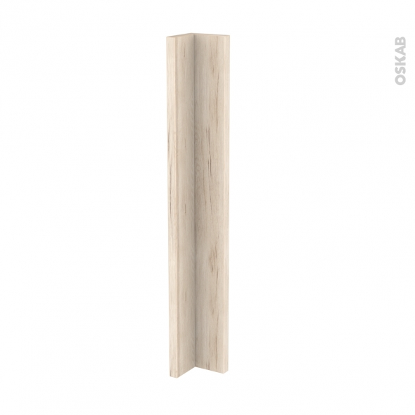 Renvoi d'angle de cuisine - N°36 - IKORO Chêne clair