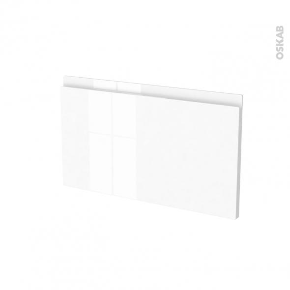 Façades de cuisine - Face tiroir N°10 - IPOMA Blanc brillant - L60 x H35 cm