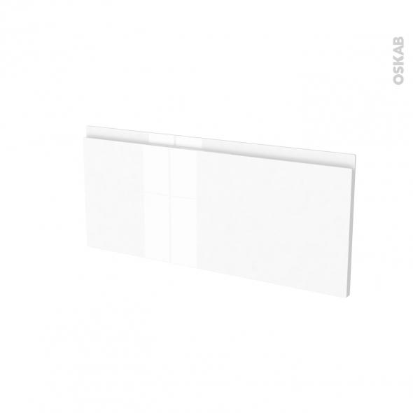 Façades de cuisine - Face tiroir N°11 - IPOMA Blanc - L80 x H35 cm