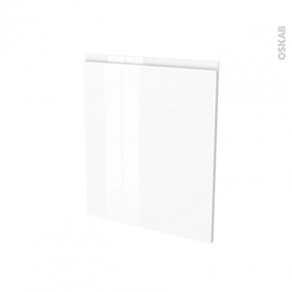 IPOMA Blanc - Porte N°21 - Frigo sous plan intégrable - L60xH70