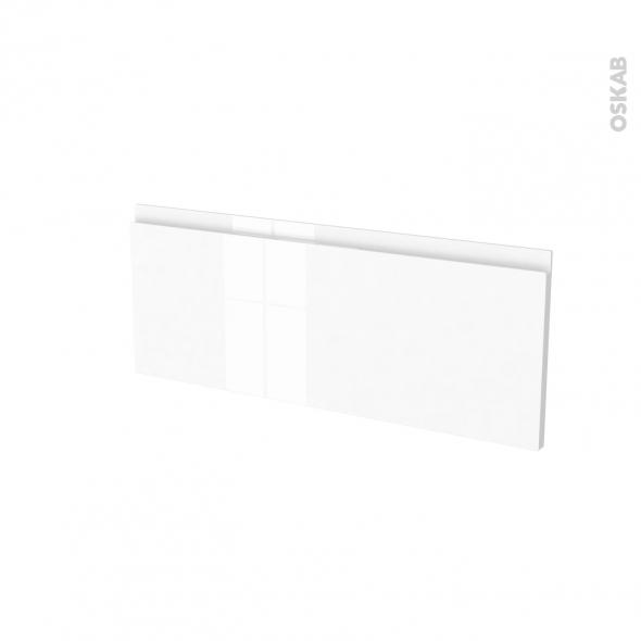 Façades de cuisine - Face tiroir N°38 - IPOMA Blanc brillant - L80 x H31 cm