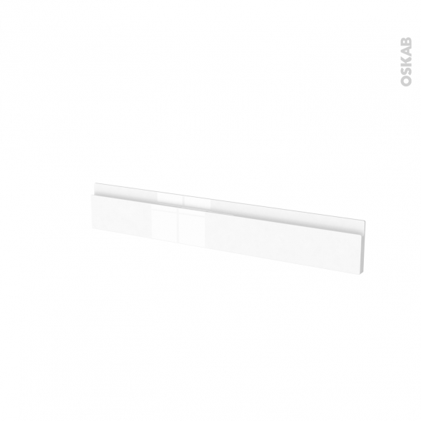 Façades de cuisine - Face tiroir N°42 - IPOMA Blanc brillant - L80 x H13 cm