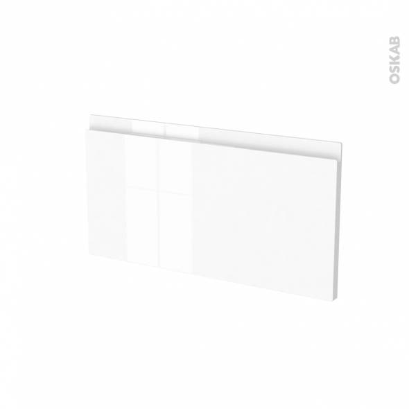 Façades de cuisine - Face tiroir N°8 - IPOMA Blanc brillant - L60 x H31 cm