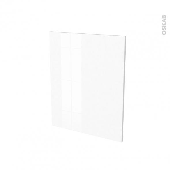 IPOMA Blanc brillant - Rénovation 18 - joue N°78 - Avec sachet de fixation - L60 x H70 Ep.1.2 cm