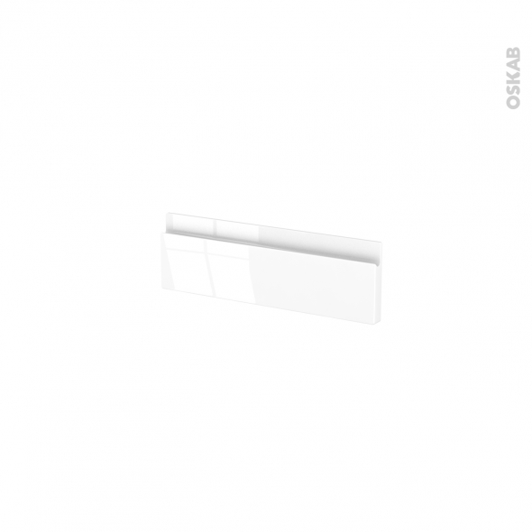 Façades de cuisine - Face tiroir N°1 - IPOMA Blanc - L40 x H13 cm