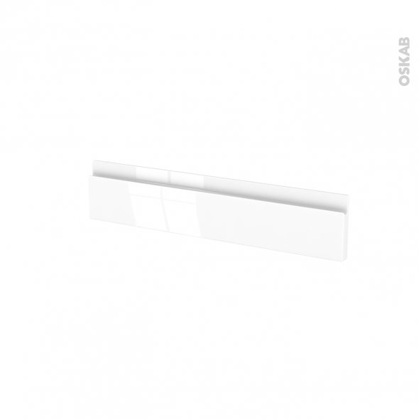 Façades de cuisine - Face tiroir N°3 - IPOMA Blanc - L60 x H13 cm