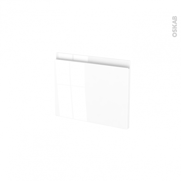 Façades de cuisine - Face tiroir N°6 - IPOMA Blanc brillant - L40 x H31 cm