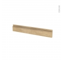 IPOMA Chêne Naturel - face tiroir N°42 - L80xH13