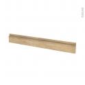 Façades de cuisine - Face tiroir N°43 - IPOMA Chêne naturel - L100 x H13 cm