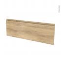 Façades de cuisine - Porte N°12 - IPOMA Chêne naturel - L100 x H35 cm