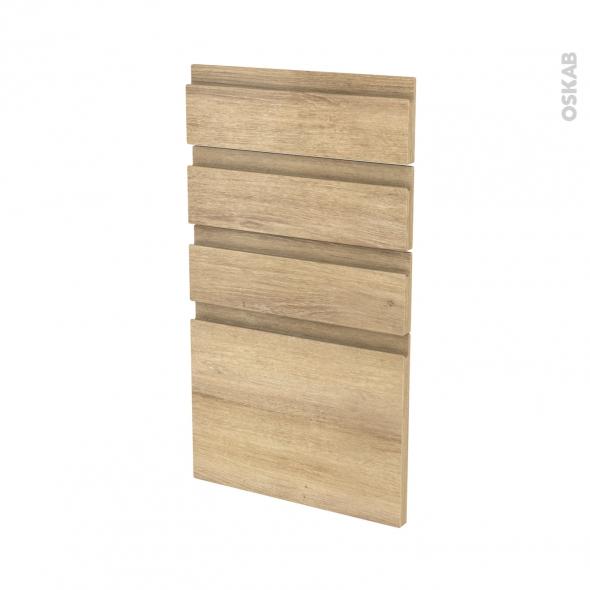 IPOMA Chêne Naturel - façade N°53 4 tiroirs - L40xH70