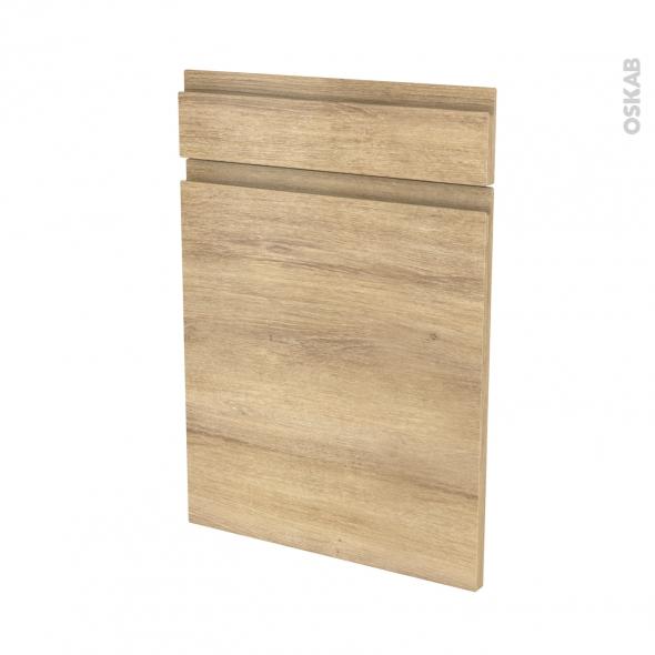 IPOMA Chêne Naturel - façade N°54 1 porte 1 tiroir - L50xH70
