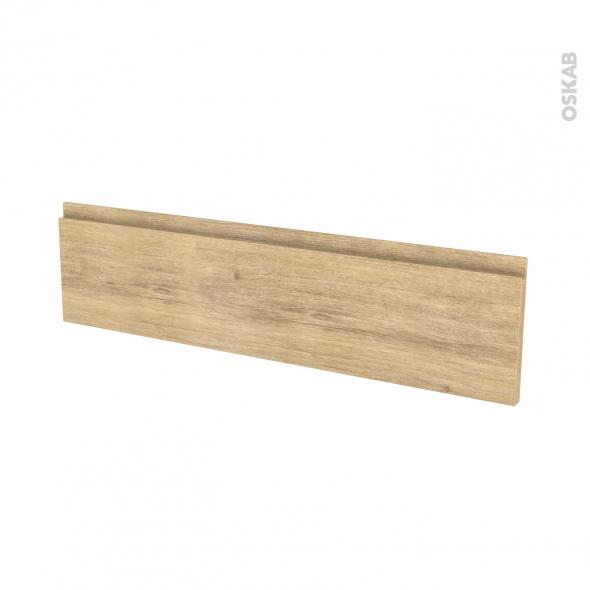 IPOMA Chêne Naturel - face tiroir N°41 - L100xH25