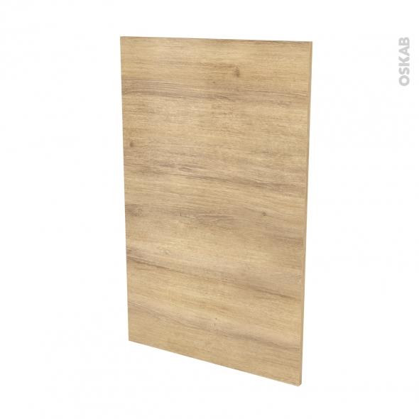 Finition cuisine - Joue N°31 - IPOMA Chêne naturel - Avec sachet de fixation - L58 x H92 x Ep.1.6 cm