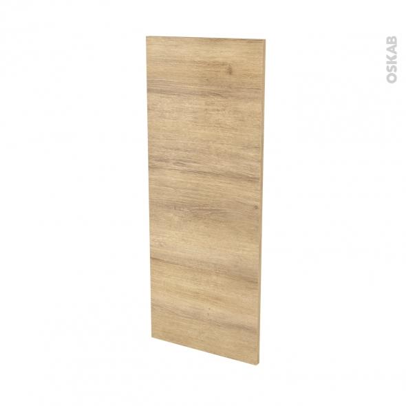 Finition cuisine - Joue N°32 - IPOMA Chêne naturel - Avec sachet de fixation - L37 x H92 x Ep.1.6 cm