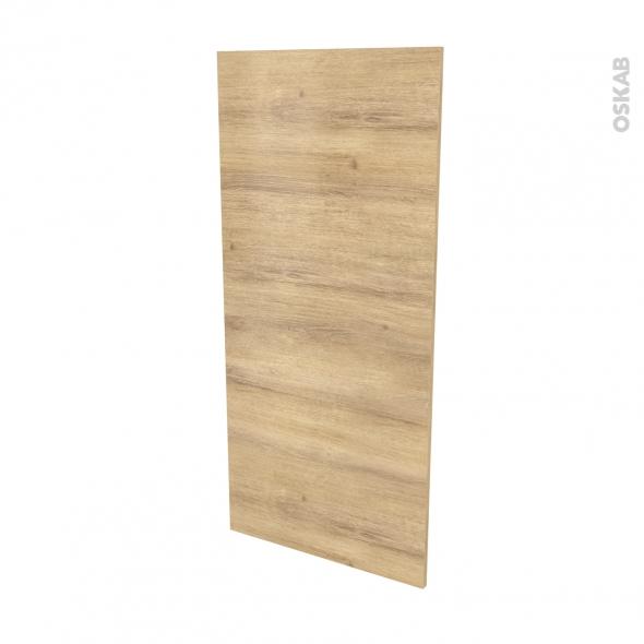Finition cuisine - Joue N°33 - IPOMA Chêne naturel - Avec sachet de fixation - L58 x H125 x Ep.1.6 cm