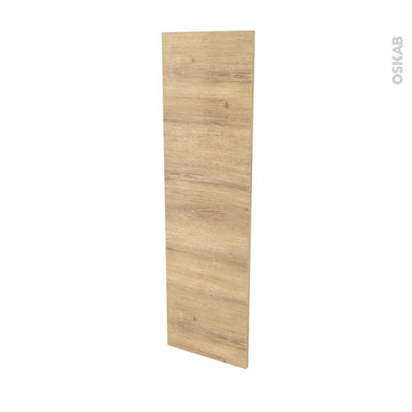 Finition cuisine - Joue N°34 - IPOMA Chêne naturel - Avec sachet de fixation - L37 x H125 x Ep.1.6 cm